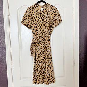 A new day Leopard Dress SZ M